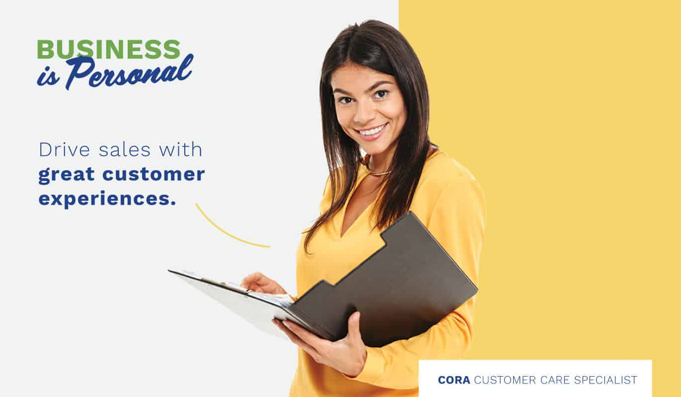 Business Is Personal: Customer Service Sales